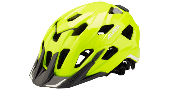 Alpina Yedon City helm geel/bont